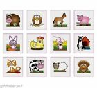 Childrens Temporary Farm Tattoos FREE DELIVERY