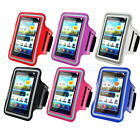 PU Leather Gym Running Jogging Sport Armband Phone Case Cover Fit Sony Xperia J