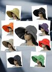 E1028 NEW BUCKET HAT SUN CAP CRUSHER WOMEN SPRING SUMMER VISOR LADIES