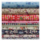 100% COTTON PRINT PATCHWORK FABRIC MATERIAL HOME CRAFT QUILTS PATTERNED DRESS