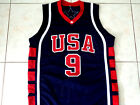 LEBRON JAMES #9 TEAM USA BASKETBALL JERSEY NEW NAVY BLUE - ANY SIZE