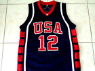 AMARE STOUDEMIRE #12 TEAM USA BASKETBALL JERSEY NEW NAVY BLUE - ANY SIZE