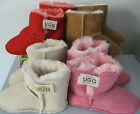 BABY ' UGG ' BOOTS XL SIZE 2-4 YRS STURDY SHEEPSKIN OUTER & COSY WOOL INSIDE
