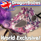 LILAC LACE FEATHER VENETIAN STYLE CARNIVAL MASQUERADE PARTY MASK BALL HEN PARTY