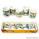 5 Ceramic Shot Glass for Soju Glass Korea Traditional Glass Korean Gift