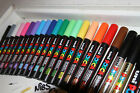 Uni-Ball Posca Marker Pen PC-3M Bullet Tip Glass Paint Chalk - ALL 27 COLOURS
