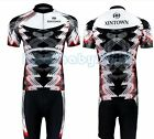 Short Sleeve Clothing Cycling Bike Bicycle Sportwear Suit Jersey + Shorts S-4XL