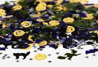 Halloween Party Table Confetti, Skulls, Bats, Spiders, Pumpkins, Decoration