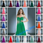 New Chiffon Long Evening Party Prom Bridesmaids Dresses Formal Gowns size 6-26
