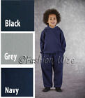 Boys Track Suit Sports Suit Hoodies Jogging Bottoms School Uniform