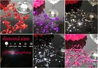 3000 MIXED WEDDING TABLE SCATTER DIAMONDS CRYSTAL CONFETTI FAVOUR DECORATION