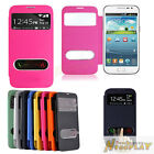 Smart Sleep View Leather Flip Battery Cover Case For Samsung Galaxy Win i8552