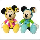 "BEDTIME BUDDIES MICKEY OR MINNIE MOUSE 16"" - CHOOSE YOUR DESIGN - BRAND NEW TAGS"