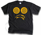 Mens Womens Funny Trippy Hypnotic Drooling Monster Smiley Face T Shirts Sm -3XL