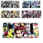 New Newspaper Print Clutch Bag Patent Vogue Magazine Celebrity Shoulder Collage