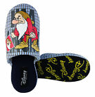 Mens DISNEY GRUMPY Novelty Slippers Slip On Mule Slipper Size 6 7 8 9 10 11 12