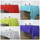"""10 pcs 60x126"""" Polyester TABLECLOTHS Wedding Catering Event Table Linens SALE"""