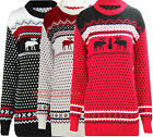 T49 NEW WOMENS LADIES KINTTED PLUS SIZE CHRISTMAS JUMPER CARDIGAN IN 08-16