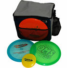 Grab-n-Go Premium 3 Disc Set - Disc Golf Bag - 3 Discs - Mini PRIME Gift Bundle