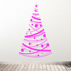 CHRISTMAS DECORATION NEW DIY DECO DECAL STICKERS SHOP WINDOW XMAS WALL TREE 02