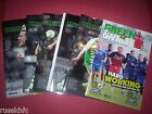 2013/14 - YEOVIL HOME PROGRAMMES CHOOSE FROM
