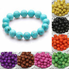 50pcs Imitation Turquoise Round Spacer Beads Jewelry Finding Loose Beads 8mm