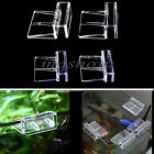 4Pcs 6/8mm Aquarium Tank Clear Plastic Clips Glass Cover Strong Support Holders