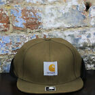 Carhartt Michigan Ears Cap Brand New Fitted Baseball Fold Down Quilted Cap