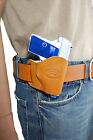NEW Barsony Tan Leather OWB Yaqui Holster Browning, Colt Mini-Pocket 22 25 380