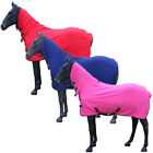 Equestrian Horse Cooler Stable Show Winter Travel Combo Fleece Rug Size 4 6-7 0