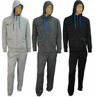 Mens Hooded Fleece Suit Jogger Hoody TrackSuit SweatShirt Jogging Top Bottoms