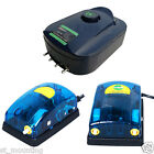 270 180 Litres/Hrs Super Silent Air Pump Aquarium 3W 5W 2-Speed UK Local
