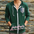 Attack on titan / shingeki no kyojin Investigation Corps Hoodies Jackets Coats