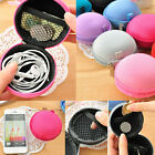 Korean Cute Coin Bag Change Zipper Purses Wallet gift headset bag new hard cage