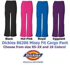 Dickies EDS 86206 Women's Cargo Scrub Pant Pick Size & Color Free Shipping!