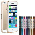 ULTRA THIN SLIM PROTECTIVE ALUMINUM METAL BUMPER CASE COVER FOR IPHONE 5 5G 5S