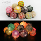 Aladin 20 Colorful Cotton Balls String Lights Fairy,Home/Patio Lighting Decor UK