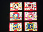 1 or 6 Pk Handmade Pop-Up Gift Card Money Holder Disney Mickey Mouse & Others