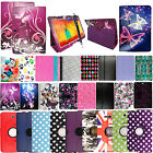 For Samsung Galaxy Notes & Tablets Printed Leather Media Stand Case Cover+Stylus
