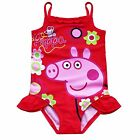Peppa Pig Girl Kid Bikini Swimsuit Swimwear Bathing Suit Swimming Costume SZ 2-6