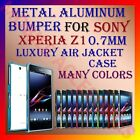 ALUMINUM BUMPER METAL CASE for SONY XPERIA Z1 0.7MM ARMOR AIR JACKET COVER FRAME