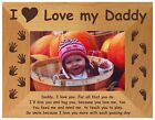 PERSONALISED SOLID WOODEN PHOTO FRAME, MOTHERS/FATHERS DAY,BIRTHDAY,CHRISTMAS
