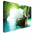 Andaman sea Thailand Landscape Canvas Wall Art Print Large + Any Size