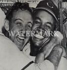 Larry Doby & Steve Gromek Big Hug 8x10 11x14 12x18 Photo Cleveland Indians