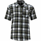 Salomon Equation Shirt - Herren Outdoorhemd Wanderhemd Hemd 359048 - Black