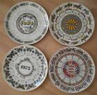 WEDGWOOD QUEENS WARE ANNUAL CALENDAR PLATE COLLECTION - CHOOSE YOUR YEAR