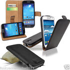 Luxury Genuine Leather Top Flip Wallet Phone Case Cover Pull Tab Slide In Pouch