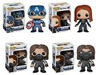 Pop! Marvel CAPTAIN AMERICA 2 THE WINTER SOLDIER (Various) Vinyl FIGURE Funko
