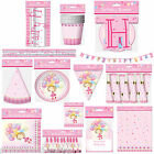 PRINCESS THEME BIRTHDAY PARTY ITEMS DECORATIONS PLATES CUPS HATS BANNER BUNTING