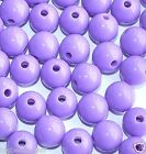 round spherical acrylic beads choice of colours and sizes